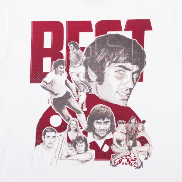 George Best Collage T-Shirt 2
