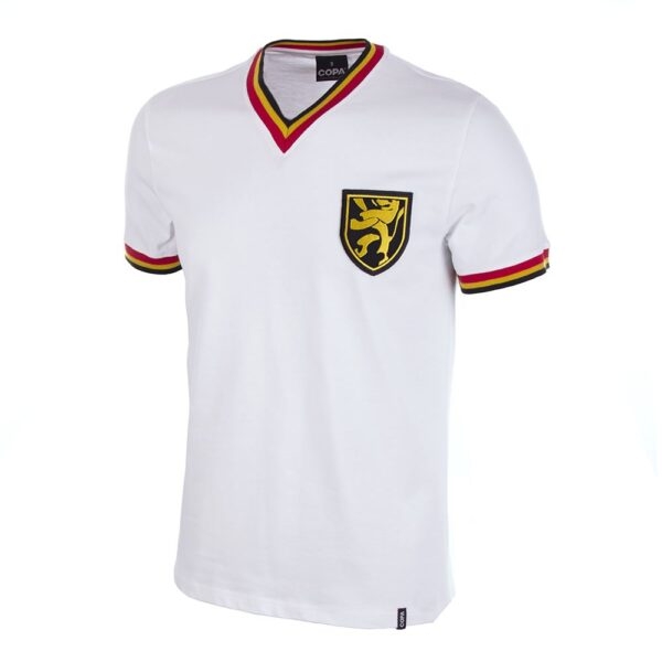 België Uit 1970's Retro Voetbalshirt