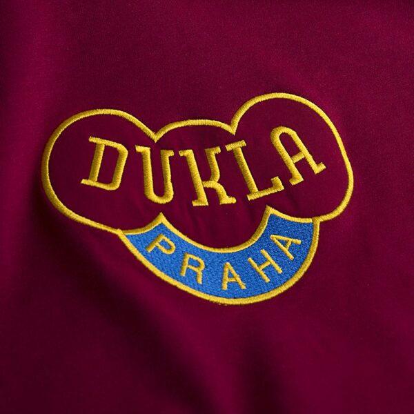 Dukla Praag 1960's Retro Voetbalshirt 2