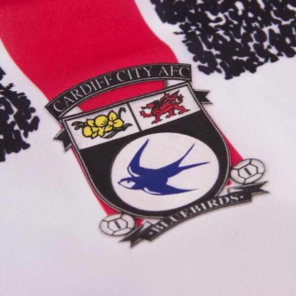 Cardiff City 1993 - 94 Uit Retro Voetbalshirt 2
