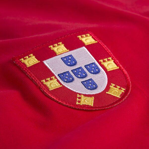 Portugal 1960's Retro Voetbalshirt 2