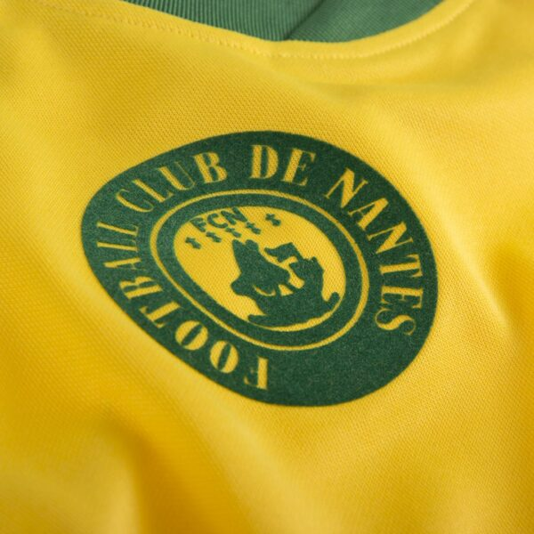FC Nantes 1978 - 79 Retro Voetbalshirt 2