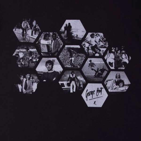 George Best Hexagon T-Shirt 2
