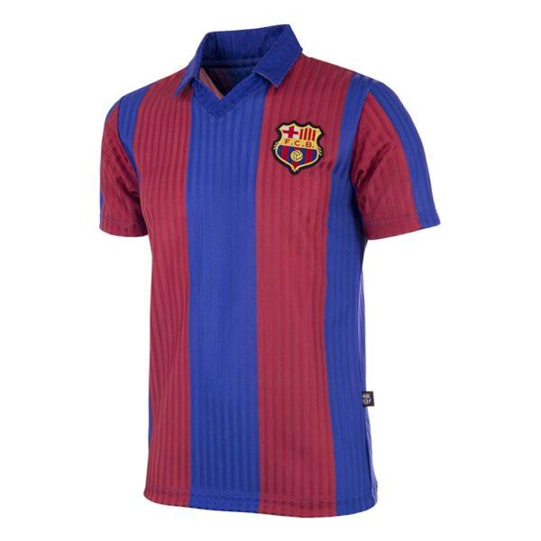 FC Barcelona 1990 - 91 Retro Voetbalshirt