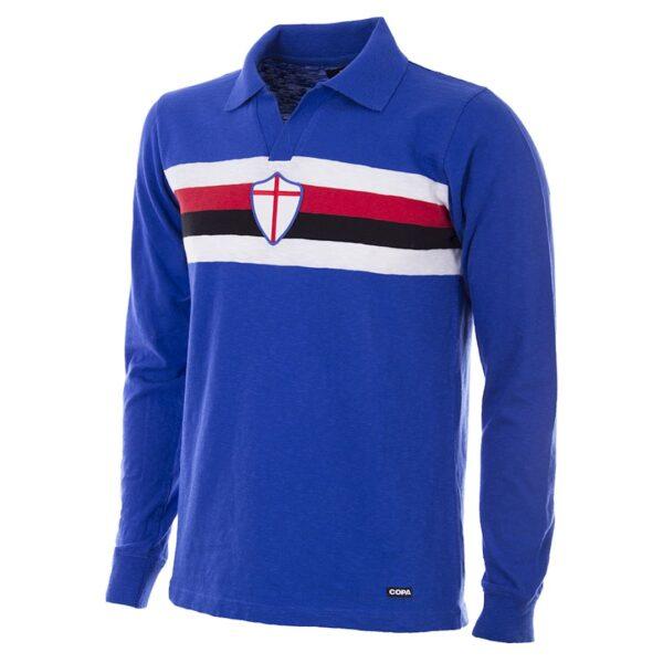 Sampdoria 1956 - 57 Retro Voetbalshirt