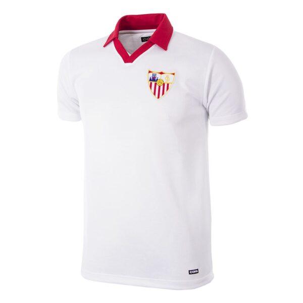 Sevilla FC 1980 - 81 Retro Voetbalshirt