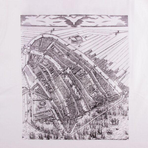 Amsterdam City Map T-Shirt 4