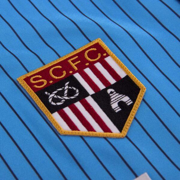 Stoke City FC 1983 - 85 Uit Retro Voetbalshirt 2