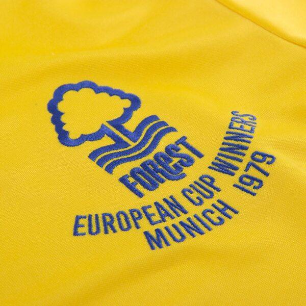 Nottingham Forest 1979-1980 Uit Retro Voetbalshirt 2