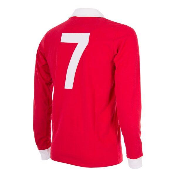 George Best Manchester United 1970´s Retro Voetbalshirt 4