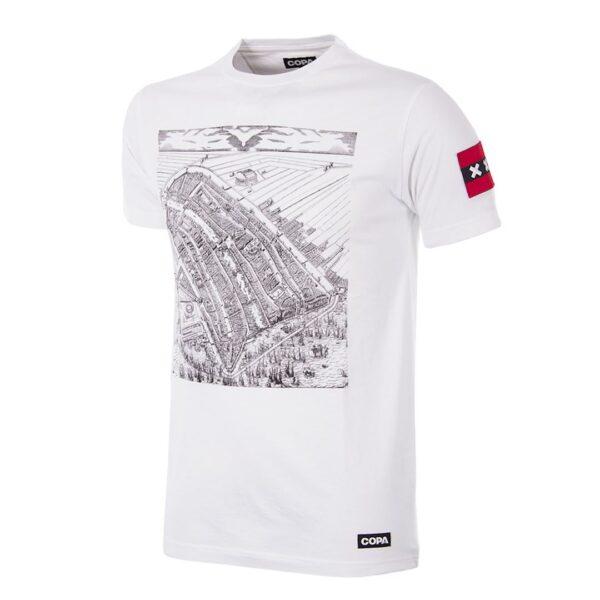 Amsterdam City Map T-Shirt