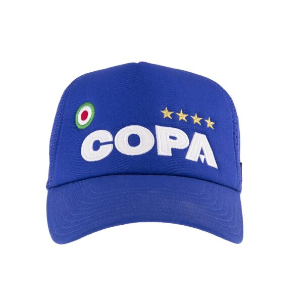 COPA Campioni Blue Trucker Cap 2