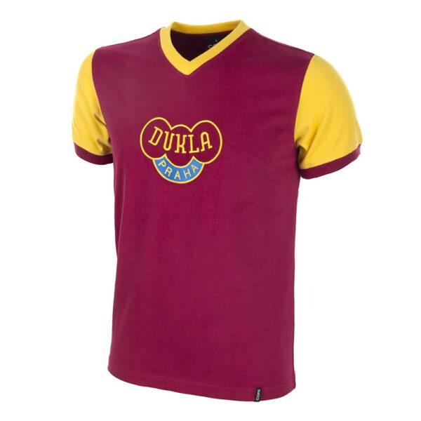 Dukla Praag 1960's Retro Voetbalshirt