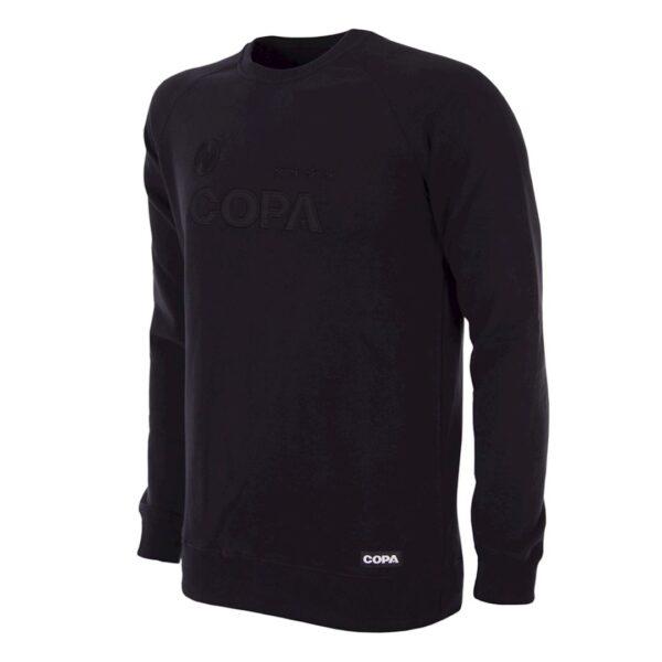 COPA All Black Logo Sweater