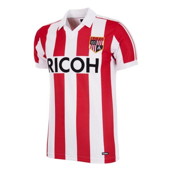Stoke City FC 1981 - 83 Retro Voetbalshirt