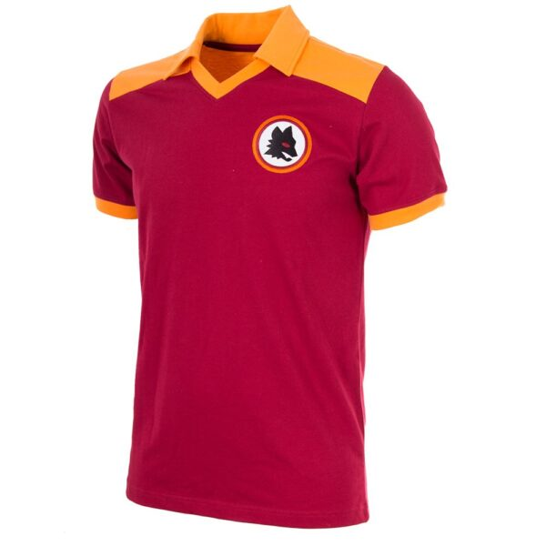 AS Roma 1980 Retro Voetbalshirt