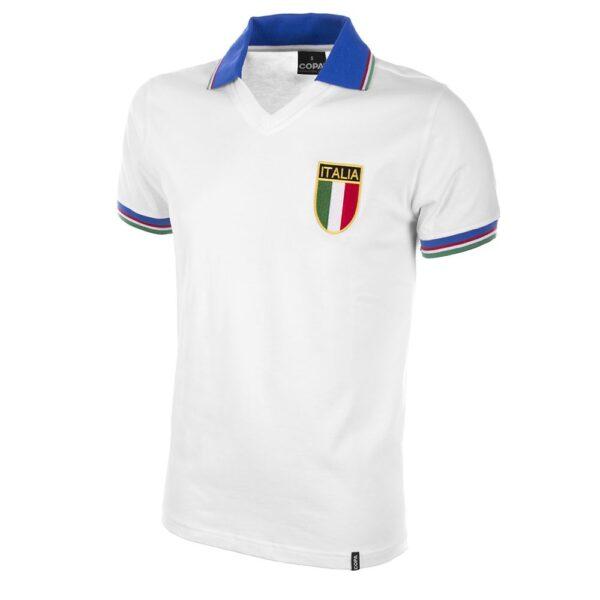 Italië Uit WK 1982 Retro Voetbalshirt