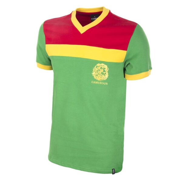 Kameroen 1989 Retro Voetbalshirt