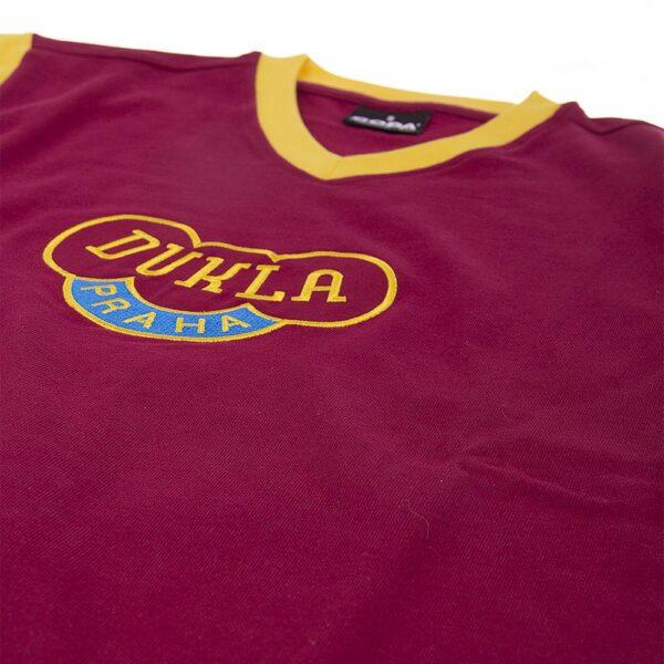 Dukla Praag 1960's Retro Voetbalshirt 6