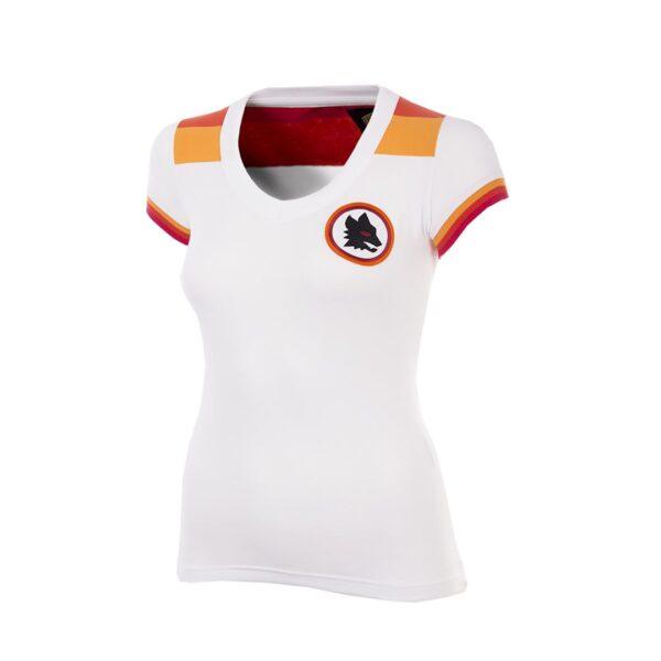 AS Roma 1978 - 79 Uit Dames Retro Voetbalshirt