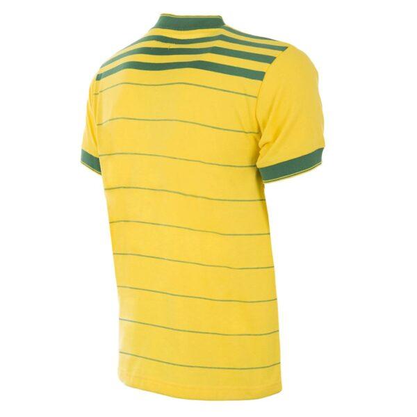 Brazilië 1984 Retro Voetbalshirt 2