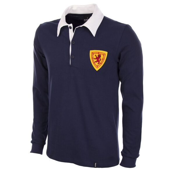 Schotland 1950's Retro Voetbalshirt