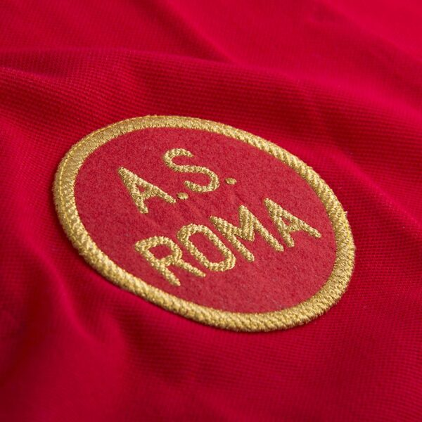 AS Roma 1961 - 62 Retro Voetbalshirt 2
