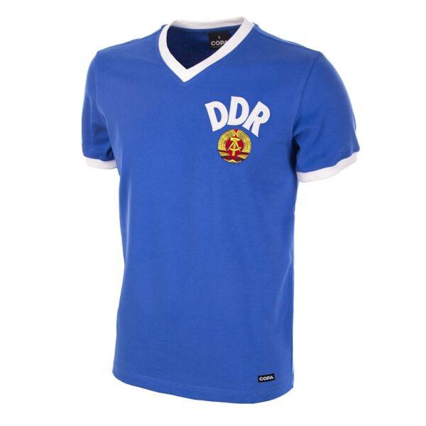 DDR WK 1974 Retro Voetbalshirt