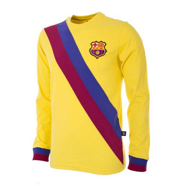 FC Barcelona Uit 1974 - 75 Retro Voetbalshirt