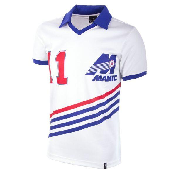 Montreal Manic 1981 Retro Voetbalshirt