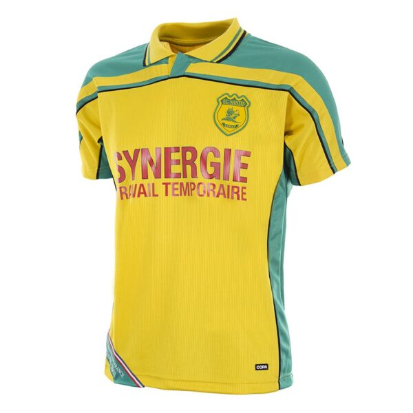 FC Nantes 2000 - 01 Retro Voetbalshirt