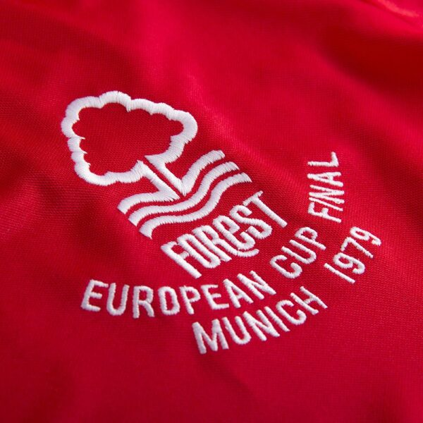 Nottingham Forest 1979 European Cup Final Retro Voetbalshirt 2
