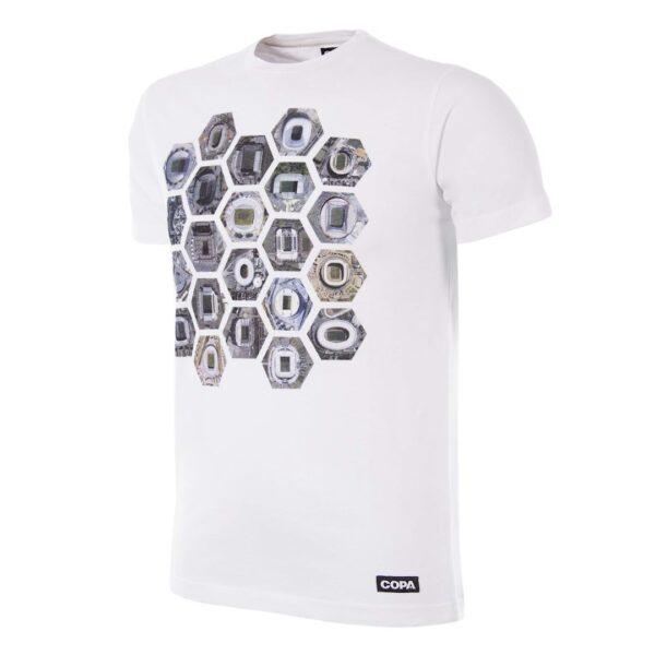 Hexagon Stadium T-Shirt | Wit