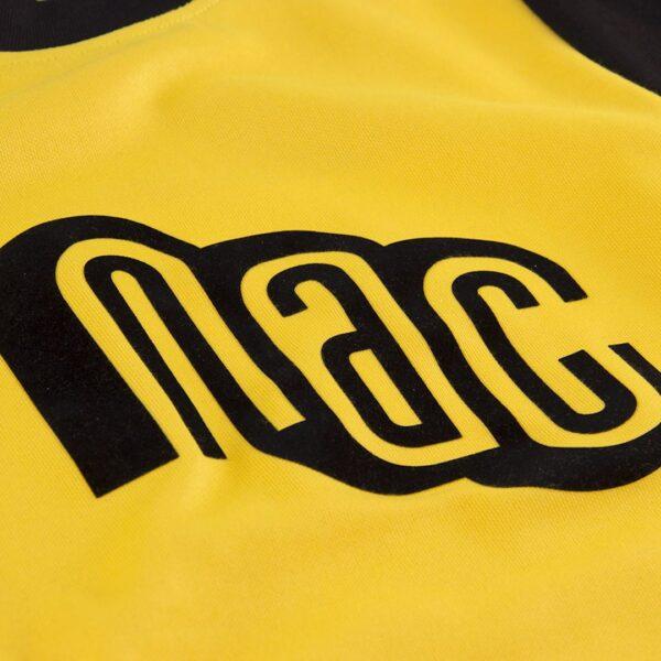NAC Breda 1981 - 82 Retro Voetbalshirt 2
