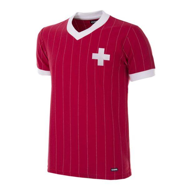 Zwitserland 1982 Retro Voetbalshirt