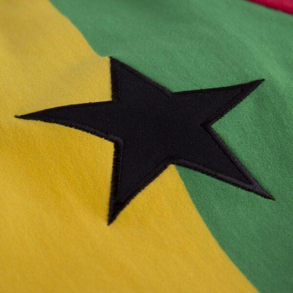 Ghana 1980's Retro Voetbalshirt 2