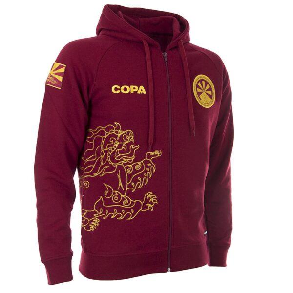 Tibet Zip Hooded Sweater 2