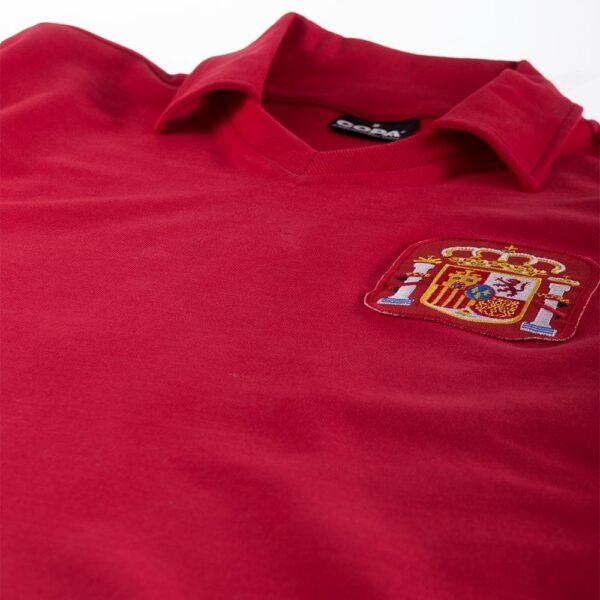 Spanje 1980's Retro Voetbalshirt 6