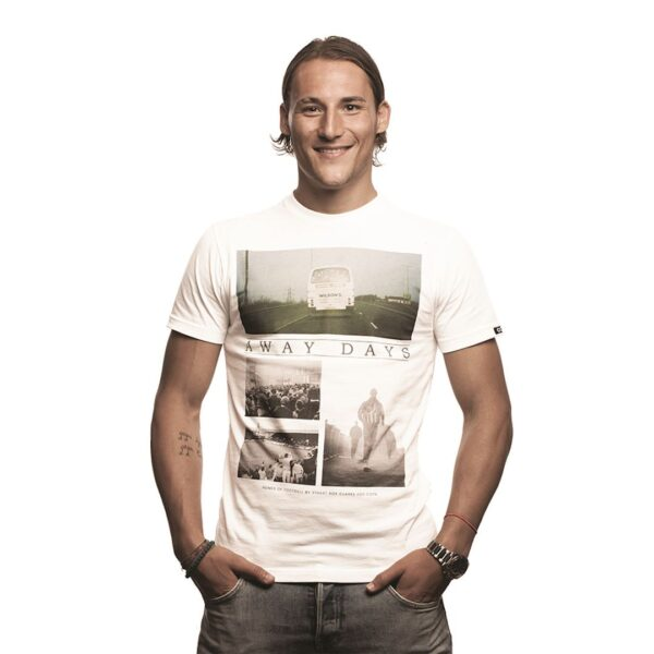 Away Days T-Shirt | Wit 4