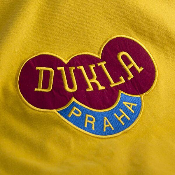 Dukla Praag Uit 1960's Retro Voetbalshirt 2