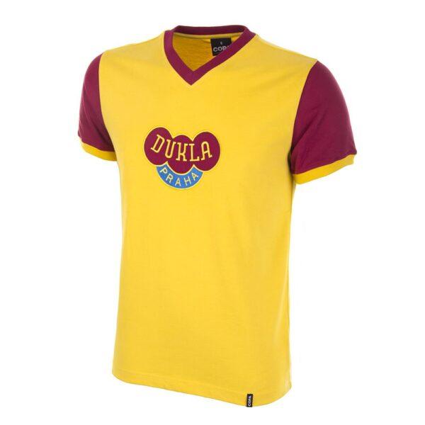 Dukla Praag Uit 1960's Retro Voetbalshirt