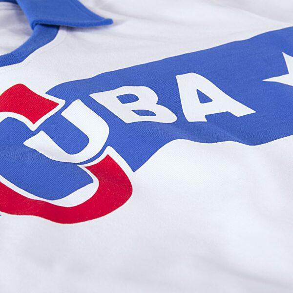 Cuba 1962 Castro Retro Voetbalshirt 2