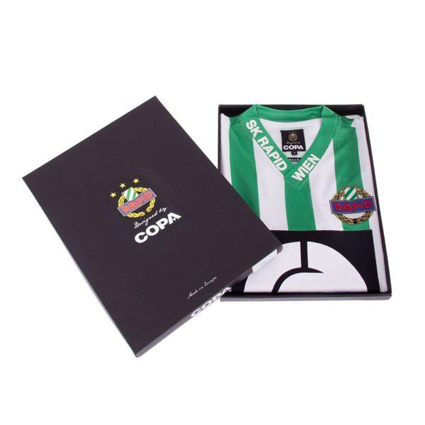 SK Rapid Wien 1988 - 89 Retro Voetbalshirt 8