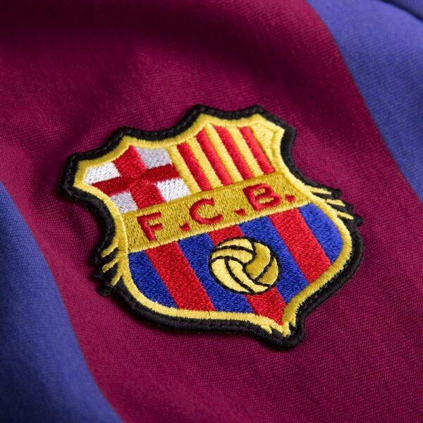 FC Barcelona 1980 - 81 Retro Voetbalshirt 2