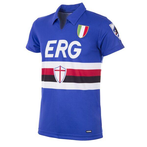 Sampdoria 1991 - 92 Retro Voetbalshirt