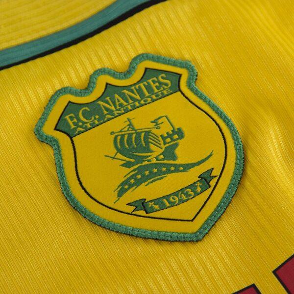 FC Nantes 2000 - 01 Retro Voetbalshirt 2