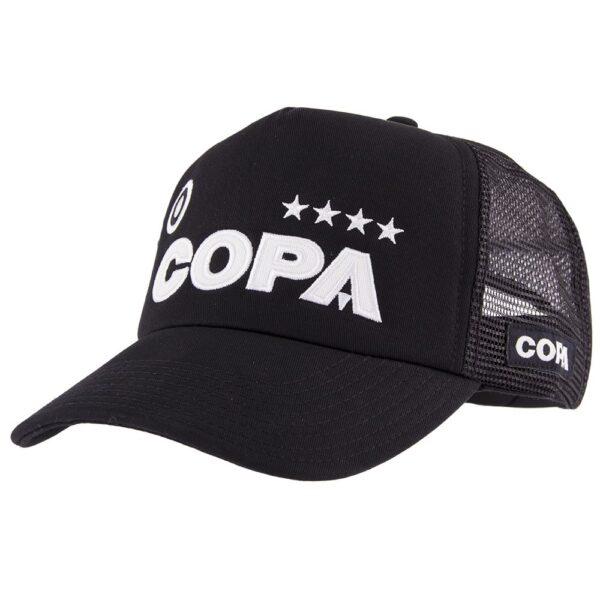 COPA Campioni Black Trucker Cap