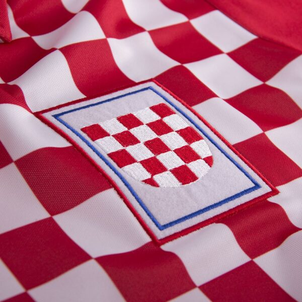 Kroatië 1992 Retro Voetbalshirt 2