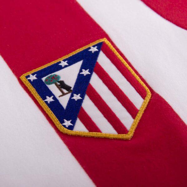 Atletico Madrid 1985 - 86 Retro Voetbalshirt 2