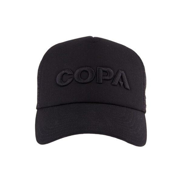 COPA 3D Black Logo Trucker Cap 2